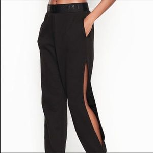 Victoria's Secret Sport jogger sweat pants slits